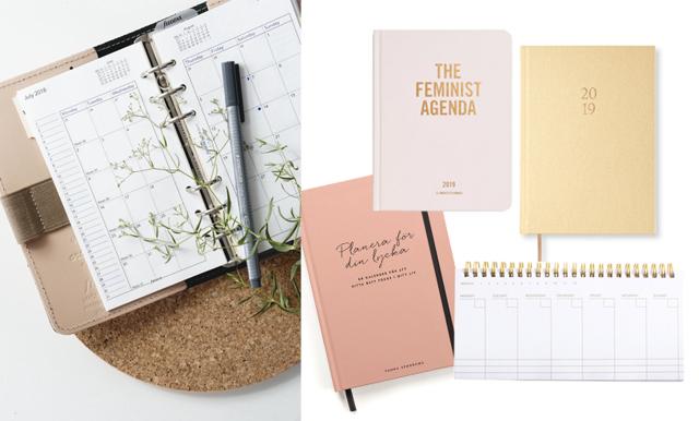 Få ordning på 2019 – 16 fina kalendrar och almanackor
