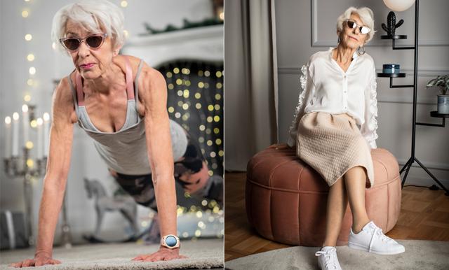 80-åriga influencern Anita