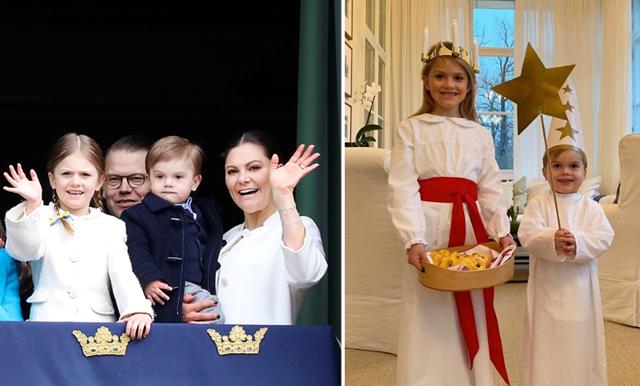 Kungligt luciafirande – det sötaste luciatåg vi sett!