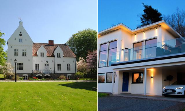 Slott och entreprenörens lyxvilla – årets 10 mest klickade bostäder på Hemnet