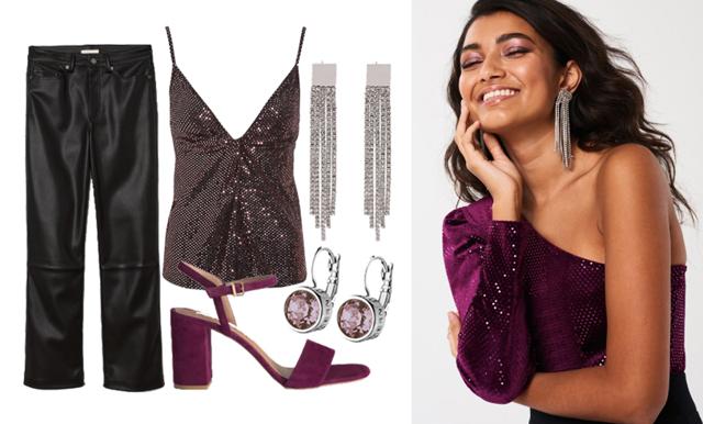 Så stylar du byxan till nyår – låt dig inspireras av 4 festliga outfits!