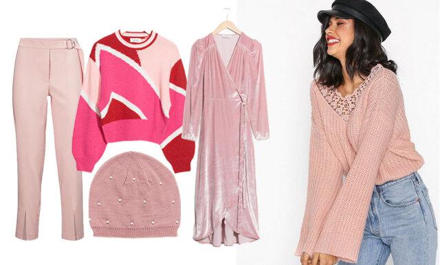 Sätt färg på vintern med rosa nyanser – 22 plagg som fixar stilen