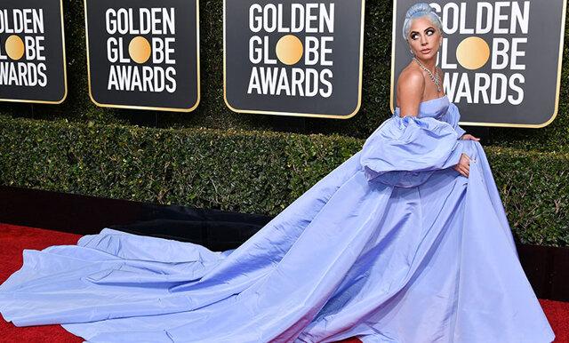 Fina hyllningen bakom Lady Gagas klänning under Golden Globe 2019