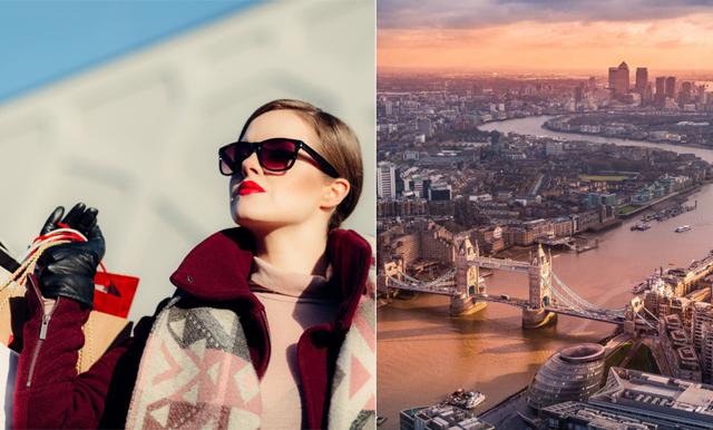VINN lyxig shoppingweekend till London för 2 personer