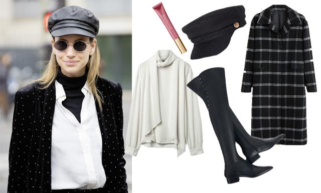 Vill du ha en enkel, tidlös och stilsäker look? Haka på den svartvita trenden
