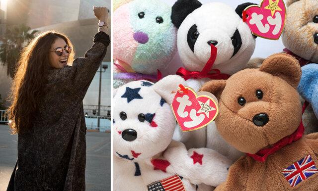 Gamla gosedjuren som kan göra dig rik – Beanie Babies säljs för miljoner