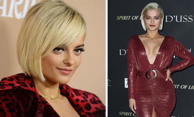 """Bebe Rexha nekades klänning till Grammys- var """"för stor"""""""