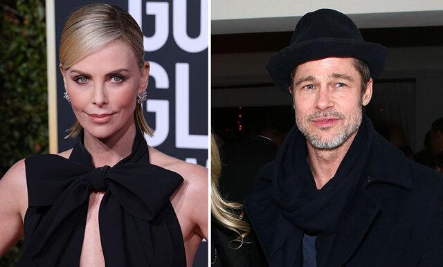 Brad Pitt och Charlize Theron ryktas vara senaste powerparet!