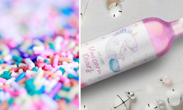 Wow vårens finaste dryck – nu finns ett glittrigt och rosa enhörningsvin!