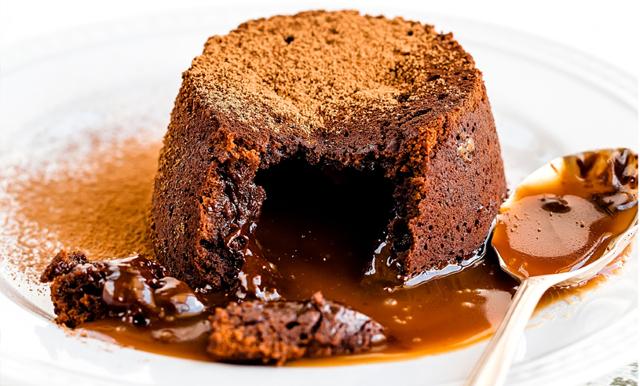 Krämiga choklad och lakrtisfondanter med havssalt - klara på 10 minuter