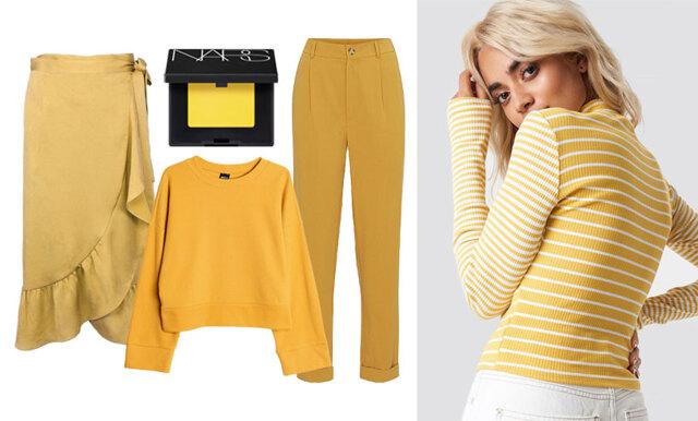 Möt nya året i trendfärgen gul – 20 plagg vi vill klicka hem!