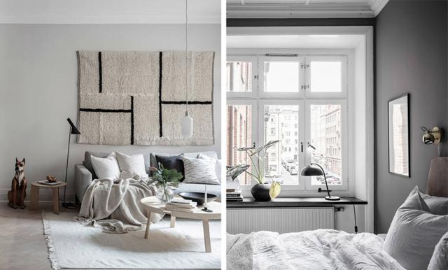 Inredningsinspiration till max! Lägenheten i Göteborg är en grå dröm