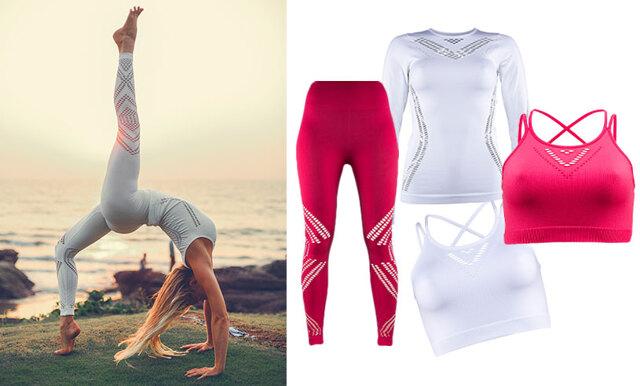 Josefines yoga lanserar kollektion tillsammans med Stadium – se alla bilderna här!