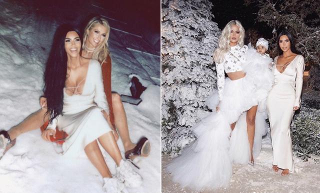 Kardashian delar med sig av privata festen – och den är mer maxad än vad vi hade trott!