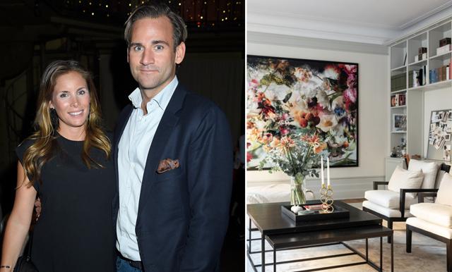Jonas och Stephanie Bergström säljer våningen på Östermalm