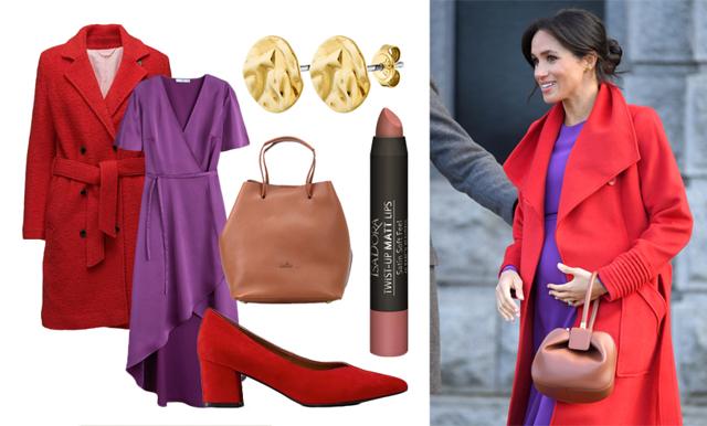 Färgstarkt och stilsäkert – sno gravidstilen av Meghan Markle