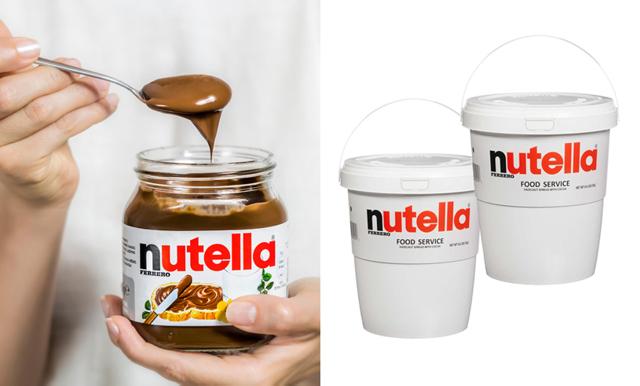 Vad sägs om att köpa en hink med 3 kilo Nutella? Här finns den!