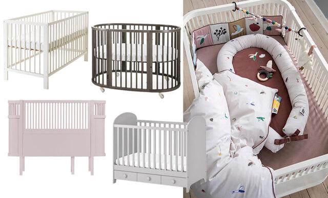 Så väljer du rätt spjälsäng till din bebis - 10 praktiska och fina val