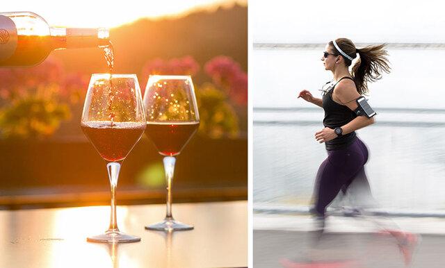 Loppet för dig som älskar både löpning och vin