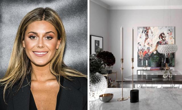Bilderna från Bianca Ingrossos nya drömmiga lägenhet