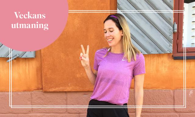 Veckans utmaning med Cassandra Brunstedt – få upp pulsen varje dag