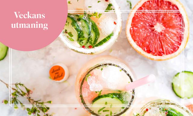Veckans utmaning med Cassandra Brundstedt – ingen alkohol eller socker!