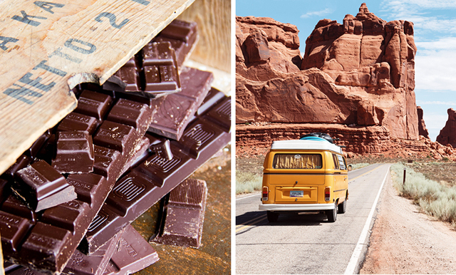 Chokladälskare, se hit! Få betalt för att åka på roadtrip i USA och äta massor av choklad