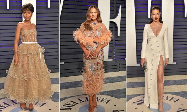 Mer fest och fler fantastiska klänningar - bäst klädda under Oscarsgalans efterfest