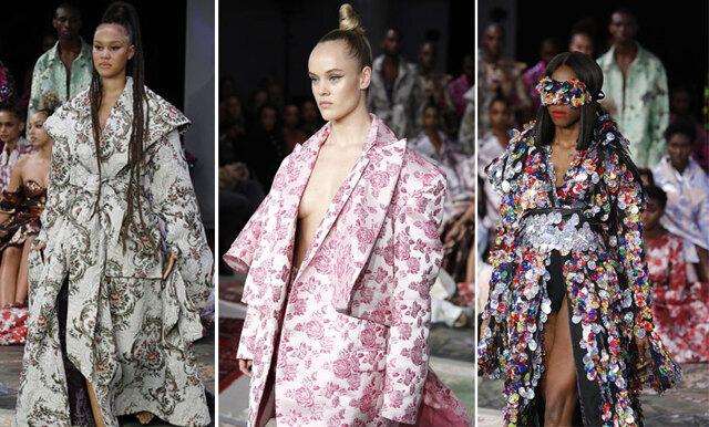 Stjärnspäckad catwalk när Selam Fessahaye intar Fashion Week