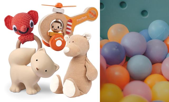 16 hållbara leksaker i ekologiskt och återvunnet material