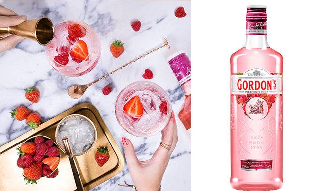 Jordgubbsdröm! Nu kommer en rosa gin till Systembolaget