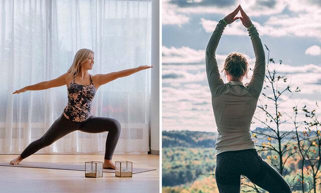 Hanna Elfasts stora yogaguide: testar 3 olika sorter så du hittar rätt form för dig