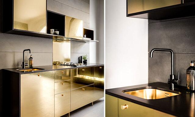 Vardagslyx med äkta guld - nu kan du uppgradera ditt Ikea-kök till ett av världens mest exklusiva