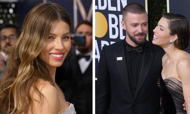 Se när Jessica Biel somnar mitt under dejten med Justin Timberlake