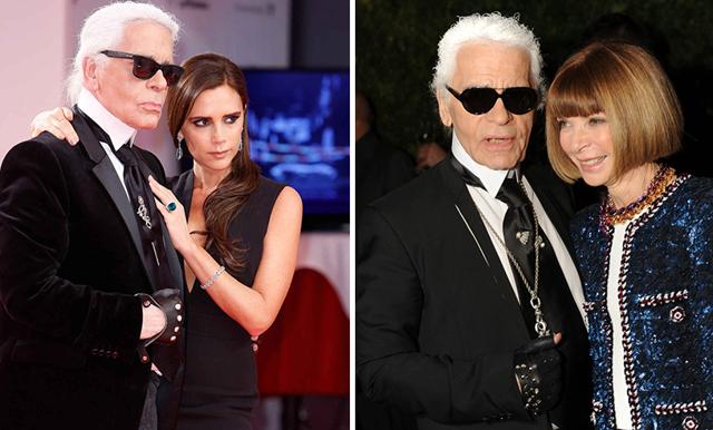 """Karl Lagerfeld hyllas av stjärnorna: """"Världen kommer aldrig få uppleva en lika stor kraft som du"""""""