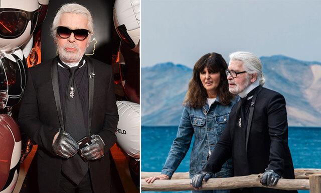 Karl Lagerfelds högra hand - hon tar över Chanel efter legendaren
