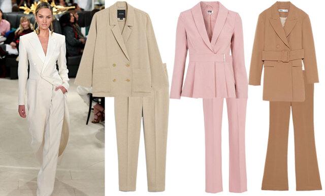 Stilsäker på kontoret - 15 matchande kostymset i vårens färger