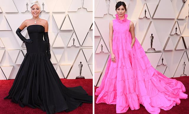 Rosa drömmar och dramatiskt svart – de bäst klädda från Oscarsgalan 2019