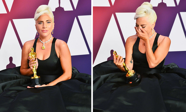 Så skrev Lady Gaga historia under nattens Oscarsgala
