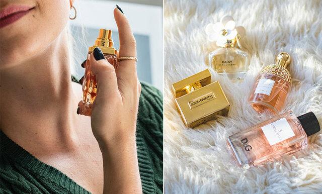 Få doften att hålla - 5 misstag som vi alla gör när vi sprayar på parfym