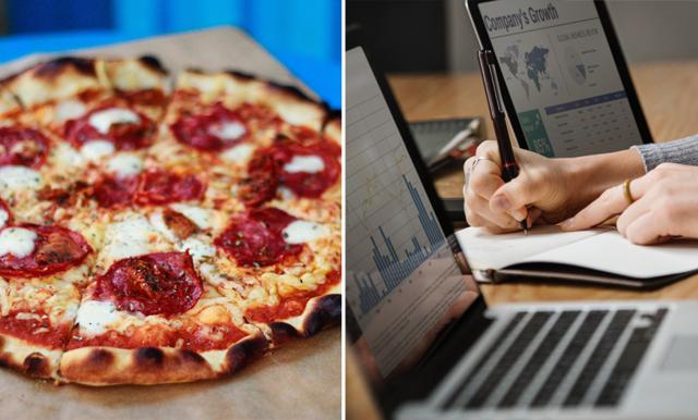 Ny studie visar: Pizza skapar större motivation än pengar!