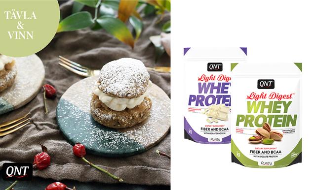 TÄVLING! Proteinrikare fika – nu kan du vinna hem smarrigt proteinpulver
