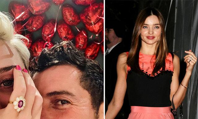 Fansens upptäckt - Orlando Bloom gav Katy Perry och Miranda Kerr snarlika förlovningsringar