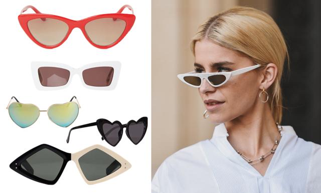 Detaljen som gör looken - 17 statement-solglasögon vi vill bära i vår!