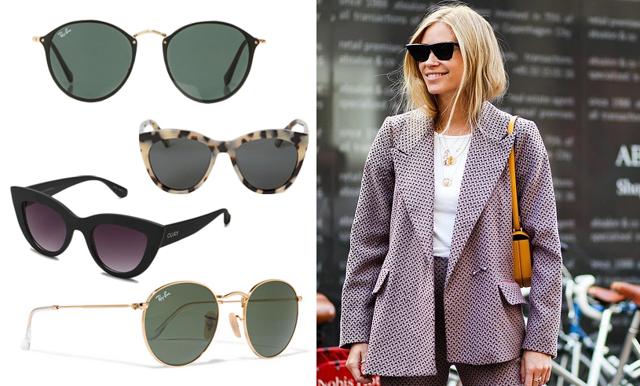 Vårstämning deluxe – vi listar 15 trendiga solglasögon vi vill bära i vår!