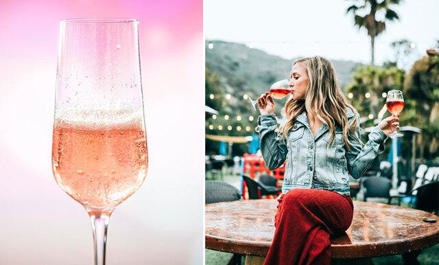 Rosé + Gin = sant -  nu lanseras den nya rosa drycken vi alltid drömt om