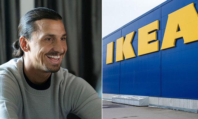 """""""Rika människor går inte till Ikea"""" - Zlatans klockrena svar på Ikea-dissen"""