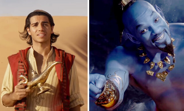 Nu är äntligen den långa officiella trailern till Aladdin här och den är magisk!