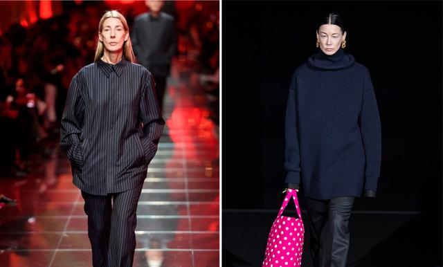 52-åriga svenskarna Britta och Ursula gör succé som modeller för Balenciaga
