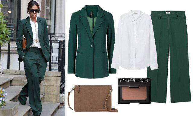 Klassiskt och elegant - Sno stilen av Victoria Beckham